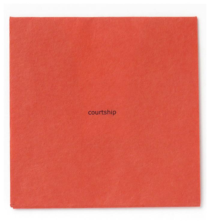 Courtship (tissues)