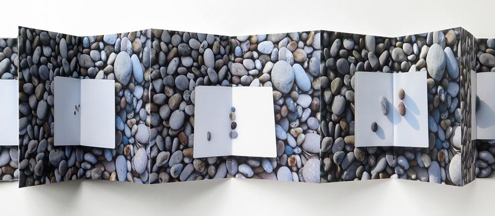 Fieldwork, Chesil Beach. Artist